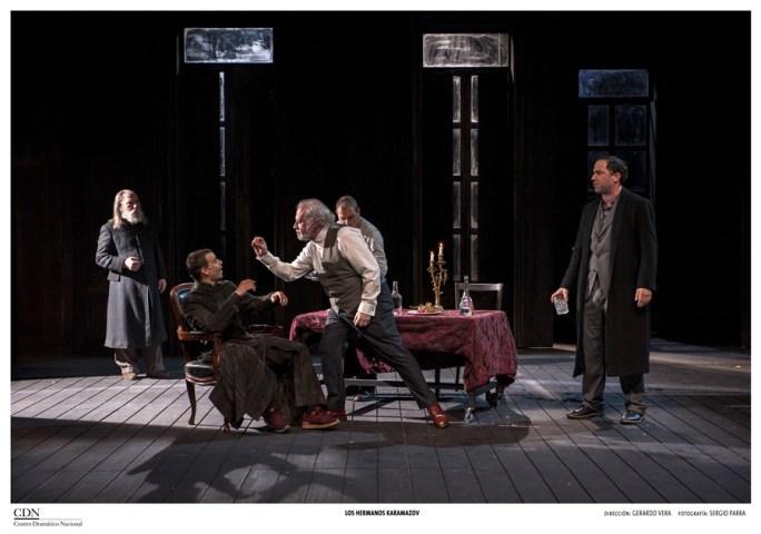 Los hermanos Karamázov en el Teatro Valle Inclán