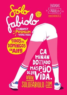 Solo Fabiolo Glam Slam en el Teatro Alfil
