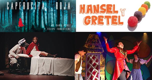 HANSEL Y GRETEL y CAPERUCITA ROJA celebran HALLOWEEN en MADRID