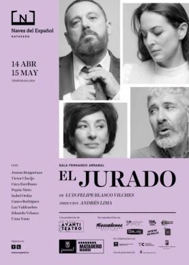 El jurado con dirección de Andrés Lima en Las Naves del Español