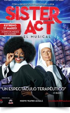 SISTER ACT El Musical en Madrid