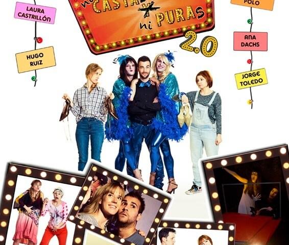 NI CASTAS NI PURAS 2.0 - el musical en el Teatro Quevedo