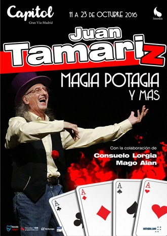 Juan Tamariz – Magia Potagia y Más, Teatro de la Luz Philips Gran Vía