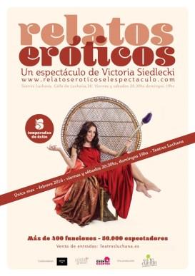 Relatos eróticos en los Teatros Luchana