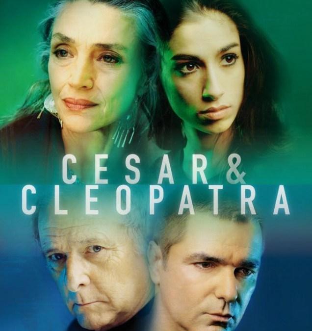 CÉSAR Y CLEOPATRA en el Teatro Bellas Artes
