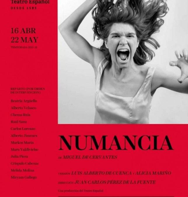 NUMANCIA  en el Teatro Español