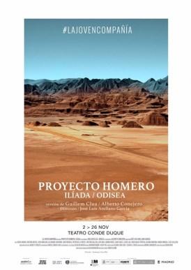 PROYECTO HOMERO: ILÍADA / ODISEA de La Joven Compañía