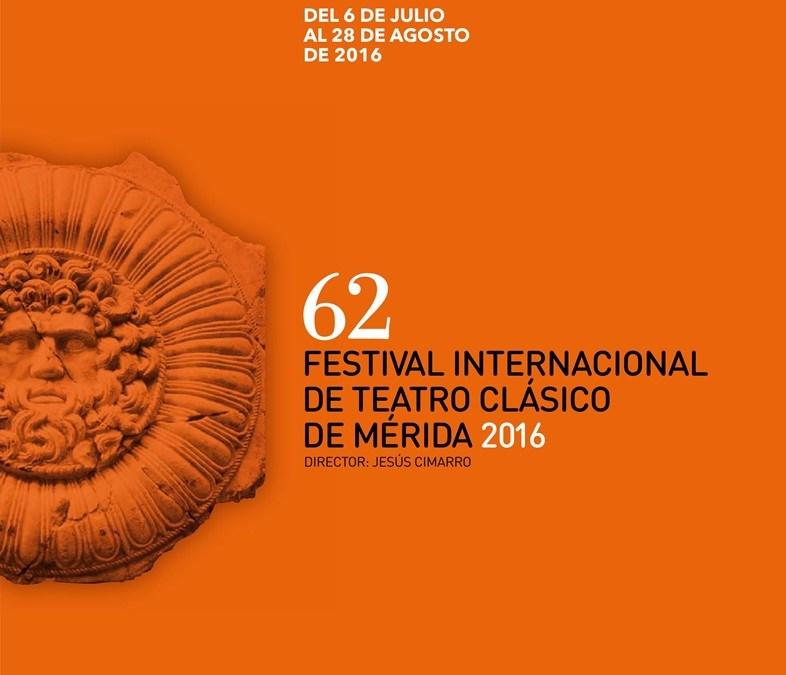Festival de Teatro Clásico de Mérida 2016 (programación completa)