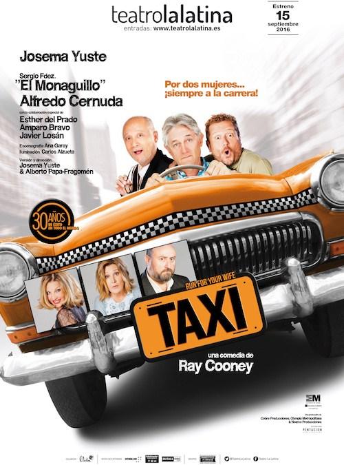 TAXI ,de Ray Cooney, con Josema Yuste en el Teatro La Latina