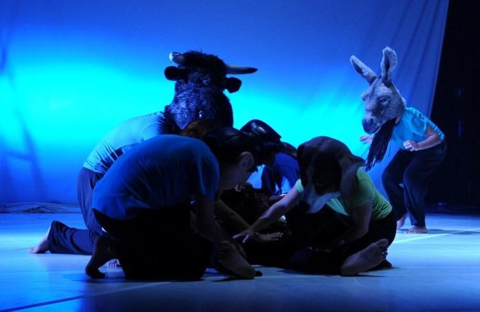 Bichos, de Dançando com a Diferença group