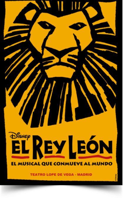 EL REY LEÓN el musical en el Teatro Lope de Vega