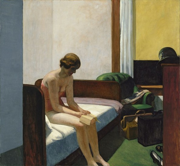 Habitación de hotel. Edward Hopper. Entrada gratuita Museo Thyssen-Bornemisza