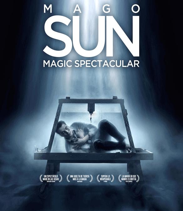 MAGIC SPECTACULAR – MAGO SUN en el Teatro de la Luz Philips Gran Vía