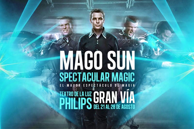 MAGO SUN – Magic Spectacular en el Teatro de la Luz Philips Gran Vía