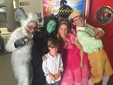 Los más pequeños también disfrutan con nosotros del #Teatro. LasBrujas de Oz en el Teatro Galileo