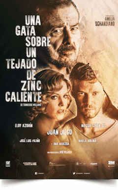 UNA GATA SOBRE UN TEJADO DE ZINC CALIENTE Teatro Reina Victoria