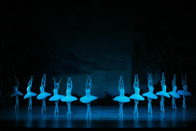EL LAGO DE LOS CISNES del Ballet Nacional Ruso. Teatro Fernán Gómez