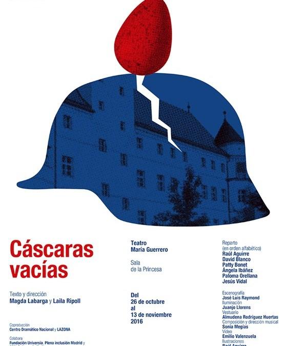 CÁSCARAS VACÍAS de Magda Labarga y Laila Ripoll