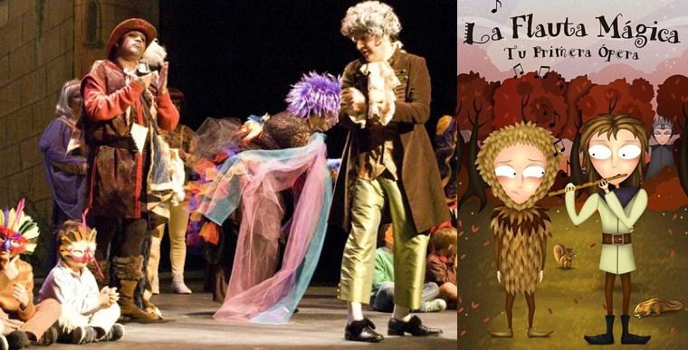 LA FLAUTA MÁGICA. TU PRIMERA ÓPERA en el Teatro Bellas Artes