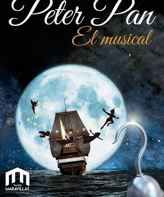 PETER PAN, EL MUSICAL en el Teatro Maravillas