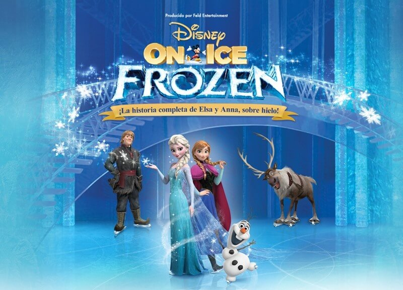 DISNEY ON ICE - FROZEN en Madrid