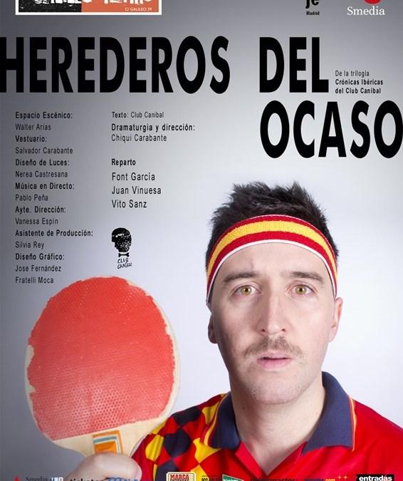 HEREDEROS DEL OCASO en el Teatro Galileo