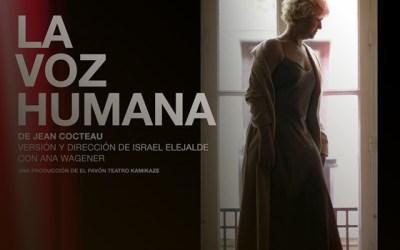 LA VOZ HUMANA en el Teatro Kamikaze
