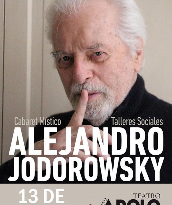 ALEJANDRO JODOROWSKY – CABARET MÍSTICO en el Teatro Nuevo Apolo
