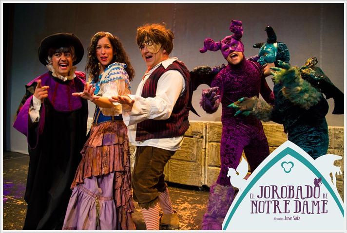 EL JOROBADO DE NOTRE DAME en el Teatro Marquina