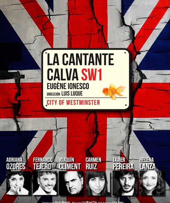 LA CANTANTE CALVA en el Teatro Español