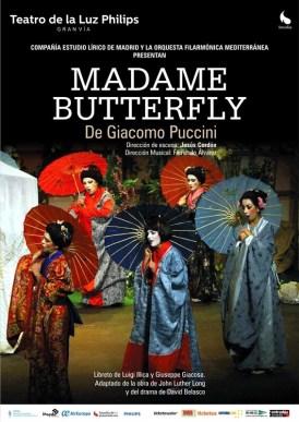 MADAME BUTTERFLY - ÓPERA en el Teatro de la Luz Philips Gran Vía