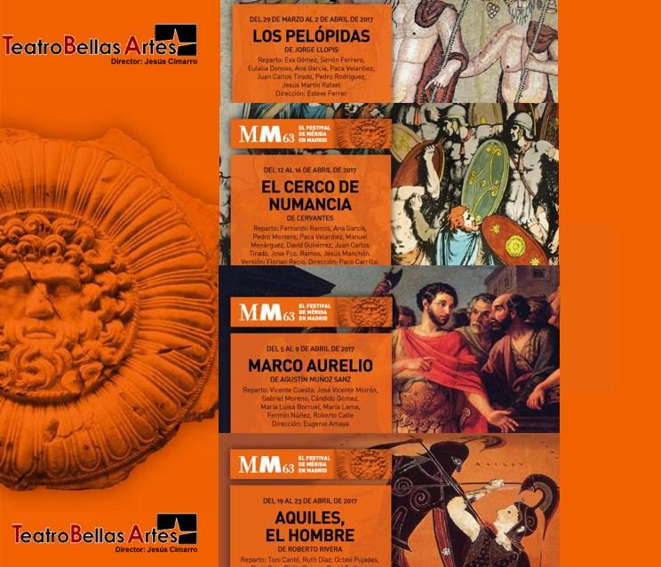 FESTIVAL DE MÉRIDA EN MADRID en el Teatro Bellas Artes, últimas funciones