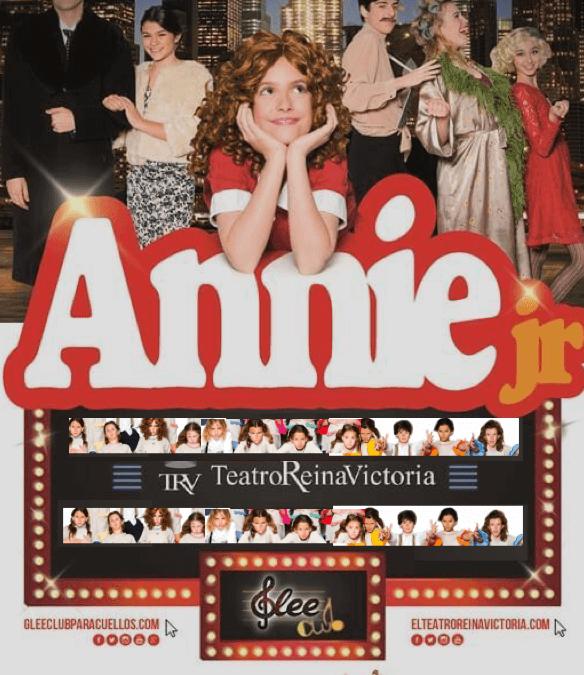 ANNIE JR EL MUSICAL Teatro Reina Victoria