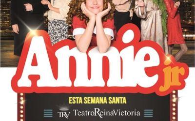 ANNIE JR EL MUSICAL llega al Teatro Reina Victoria