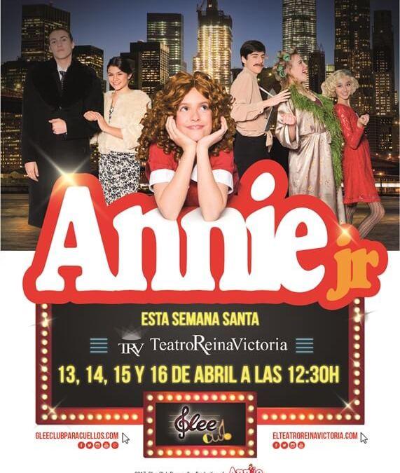 ANNIE JR EL MUSICAL Teatro Reina Victoria (4 únicas funciones)