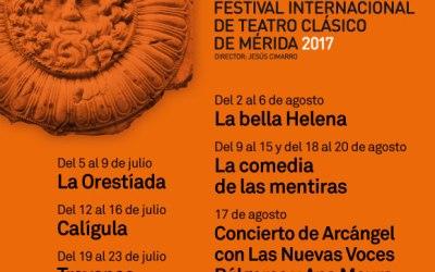 FESTIVAL INTERNACIONAL DE TEATRO CLÁSICO DE MÉRIDA 2017