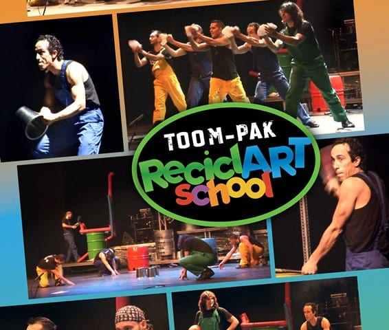 RECICLART SCHOOL en la Sala Mirador