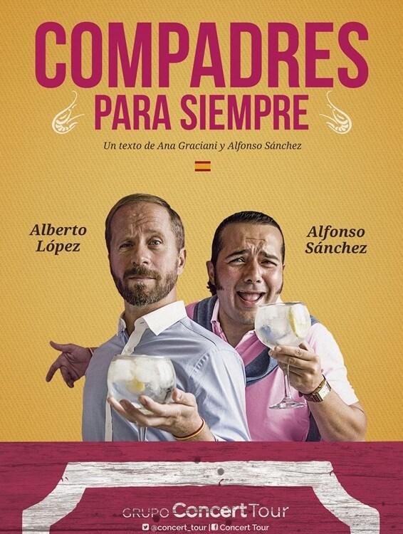 COMPADRES PARA SIEMPRE en el Teatro Calderón de Madrid