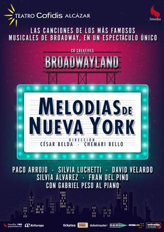 """Te invitamos a ver """"MELODÍAS DE NUEVA YORK"""" (cerrado)"""