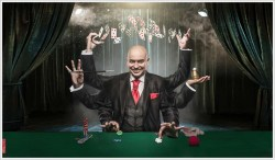 JAQUE A LO IMPOSIBLE en la Sala Houdini