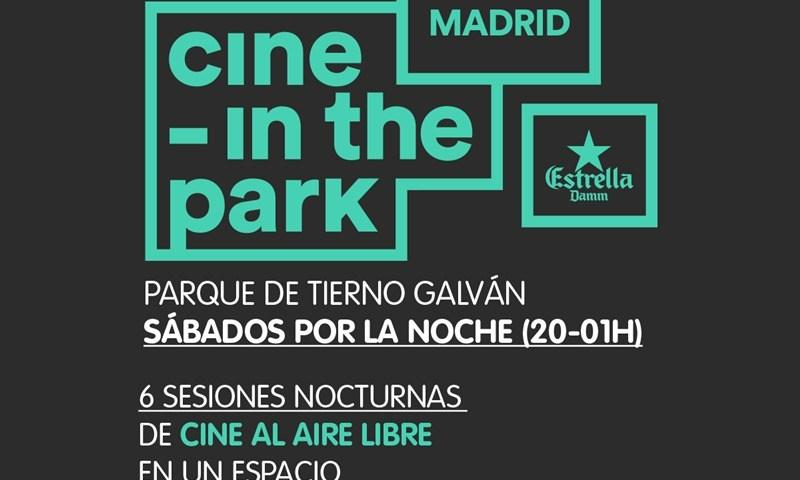 CINE - IN THE PARK en el Parque Tierno Galván