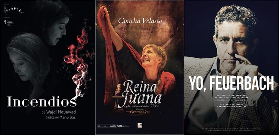 Incendios, Reina Juana y Yo, Feuerbach