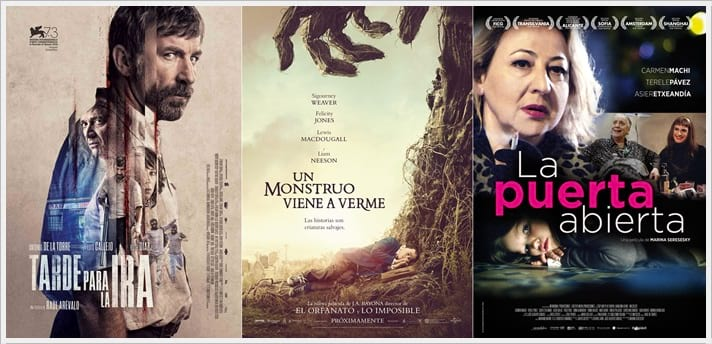 CIBELES DE CINE en el Palacio de Cibeles. Cine Español
