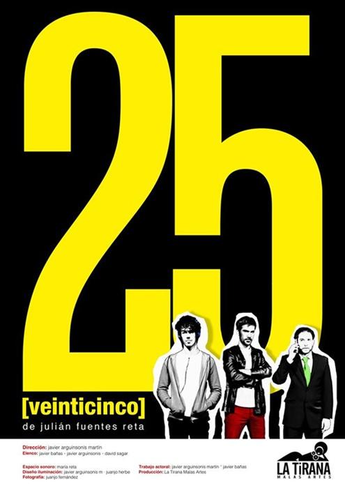 25 [VEINTICINCO] en la Sala Nueve Norte