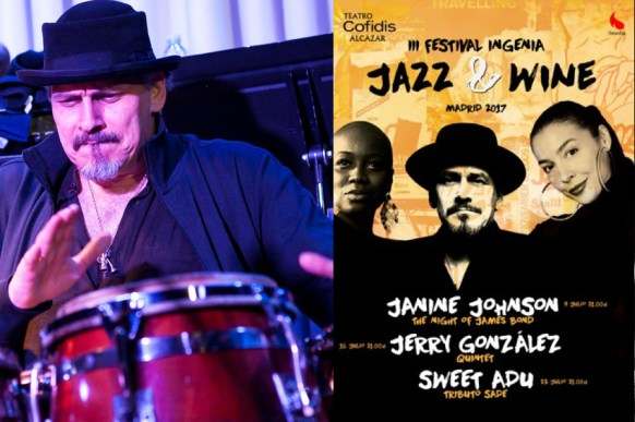 JERRY GONZÁLEZ QUINTET (III Festival Ingenia Jazz& Wine 2017)
