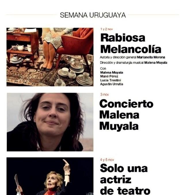 SEMANA URUGUAYA en el Teatro Español