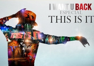 MICHAEL JACKSON I WANT U BACK. Especial THIS IS IT