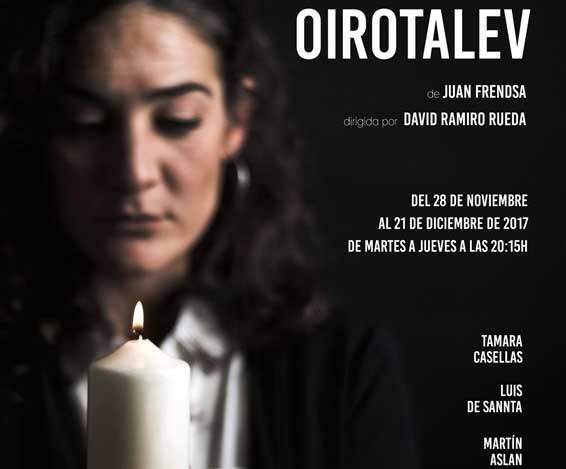 OIROTALEV en la Sala Intemperie Teatro