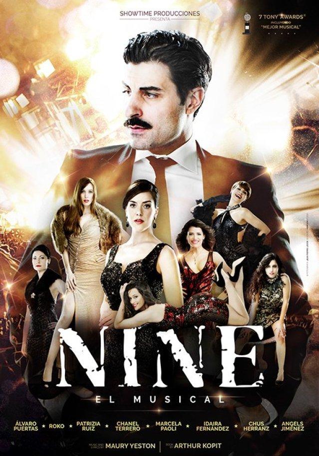 NINE EL MUSICAL, en el teatro Amaya