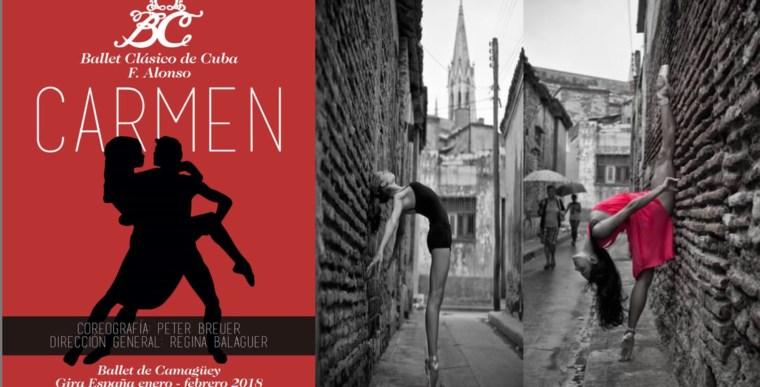 CARMEN, Ballet Clásico de Cuba F. Alonso en el Teatro de la Luz Philips